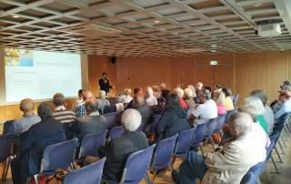 Vortrag über Bestattungsvorsorge und Bestattungsarten